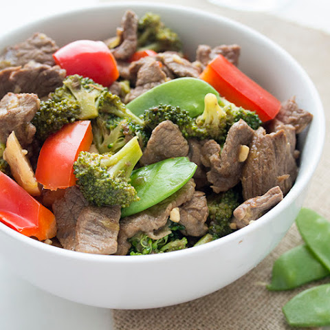 Skinny Beef and Broccoli Stir-Fry