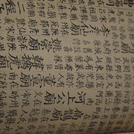 A Page from a Scribe of the Orient by John Tuttle - Artistic Objects Signs ( text, document, symbols, words, page, letter, paper, written, writing, alphabet, letters )