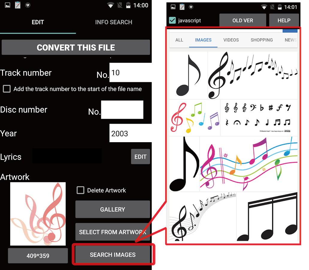 TK Music Tag Editor -Complete- Screenshot 4