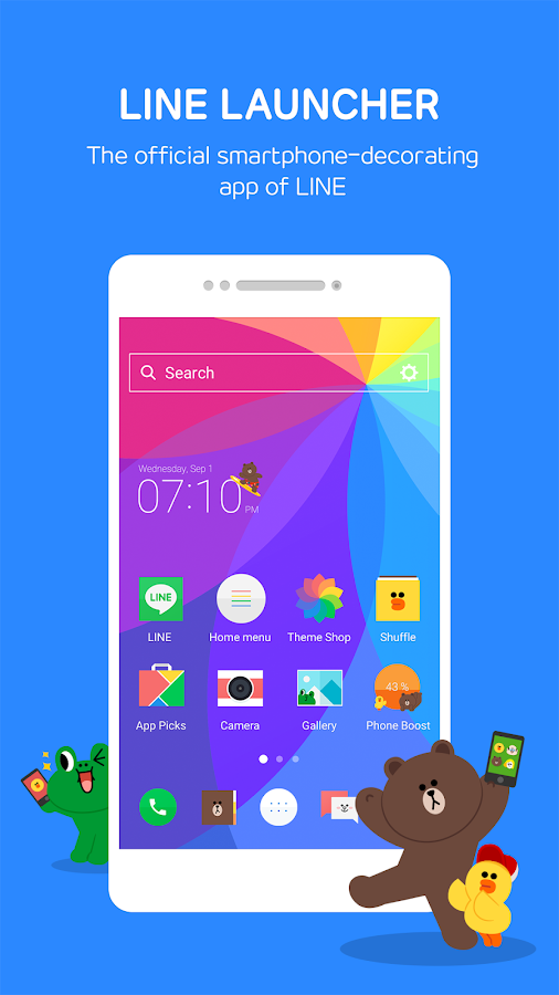 LINE Launcher Screenshot 1