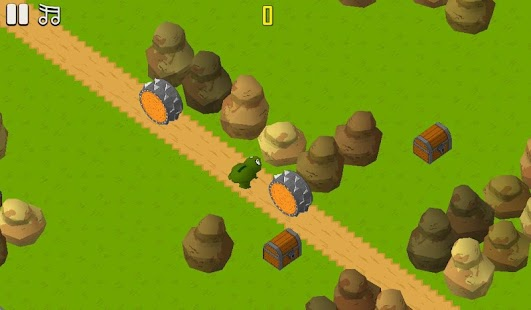 Crossing Roads Game Doge Bunny - screenshot