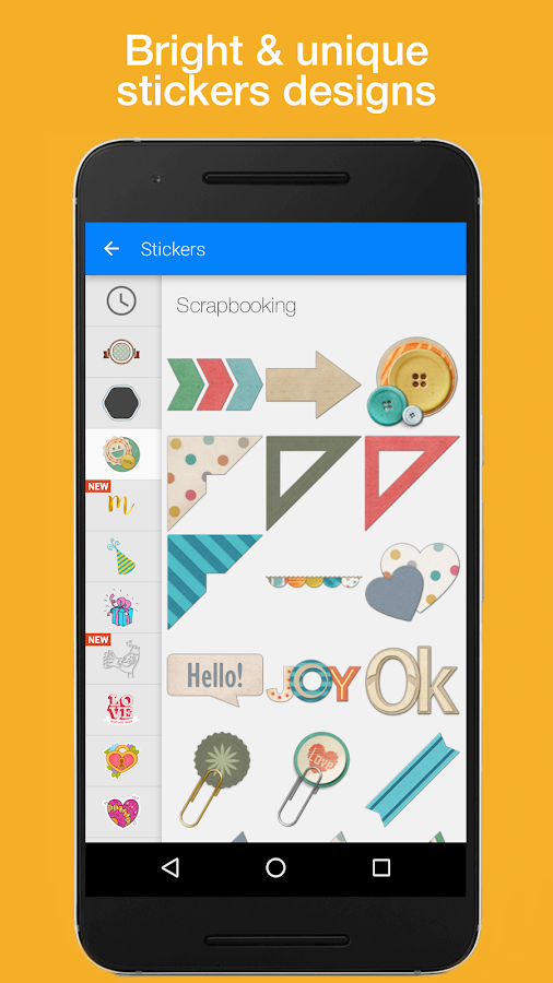 Sticker Set: Scrapbooking Screenshot