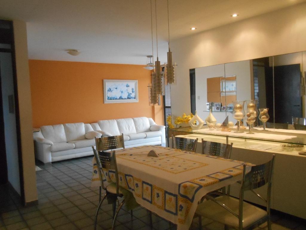 Apartamento com 3 dormitórios à venda, 131 m² por R$ 370.000,00 - Intermares - Cabedelo/PB