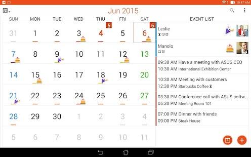 App ASUS Calendar APK for Windows Phone