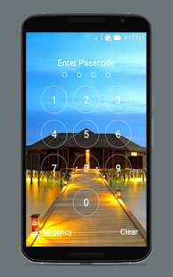 Slide To Unlock - Keypad - screenshot
