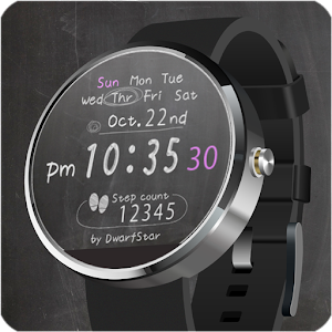 Blackboard Watchface