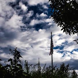 Flag by Anthony Balzarini - Public Holidays July 4th ( #american #flag #usa #stars #stripes )