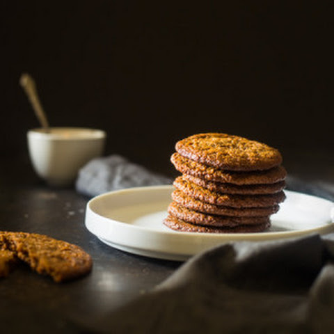 Almond Butter Spiced Paleo Cookies {Vegan}