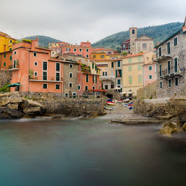 Paradiso by Sergio Di - City,  Street & Park  Vistas ( #mare, #tellaro, #sea, #costa, #5terre, #liguria )