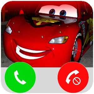 Fake Call Lightning McQueen For PC