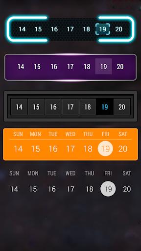Calendar Widget: Month - screenshot