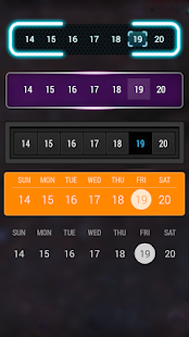 Calendar Widget: Month- screenshot thumbnail