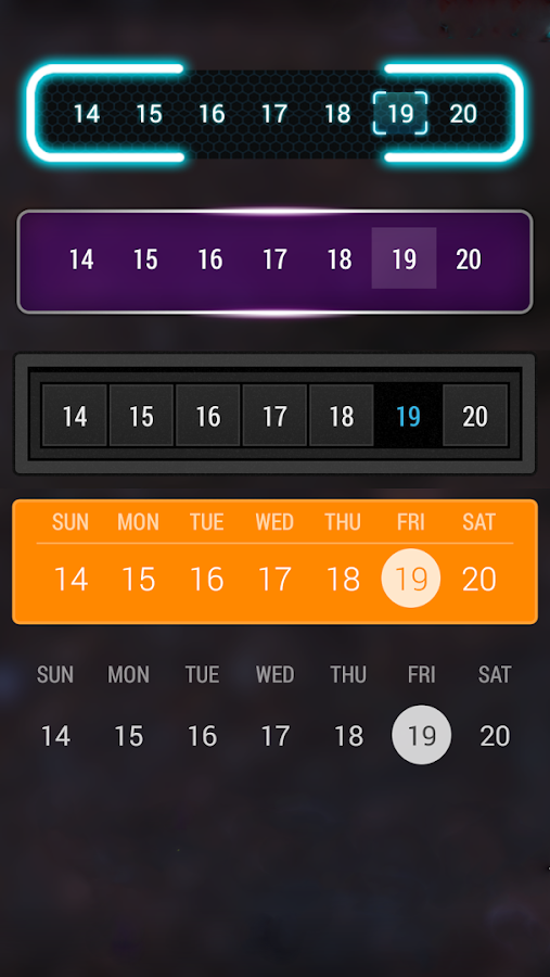 Calendar Widget: Month Screenshot 7