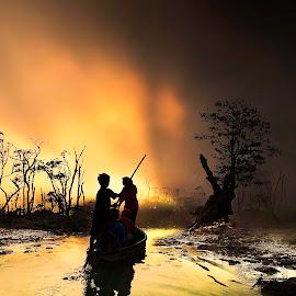 Everlasting by Irwan Setiawan - Digital Art Places ( bogor, digitalart, indonesia, kawah ratu, landscape,  )