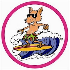Surfing Dingo and Friends