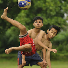 I Love Football by Taufik Soleh - Sports & Fitness Soccer/Association football