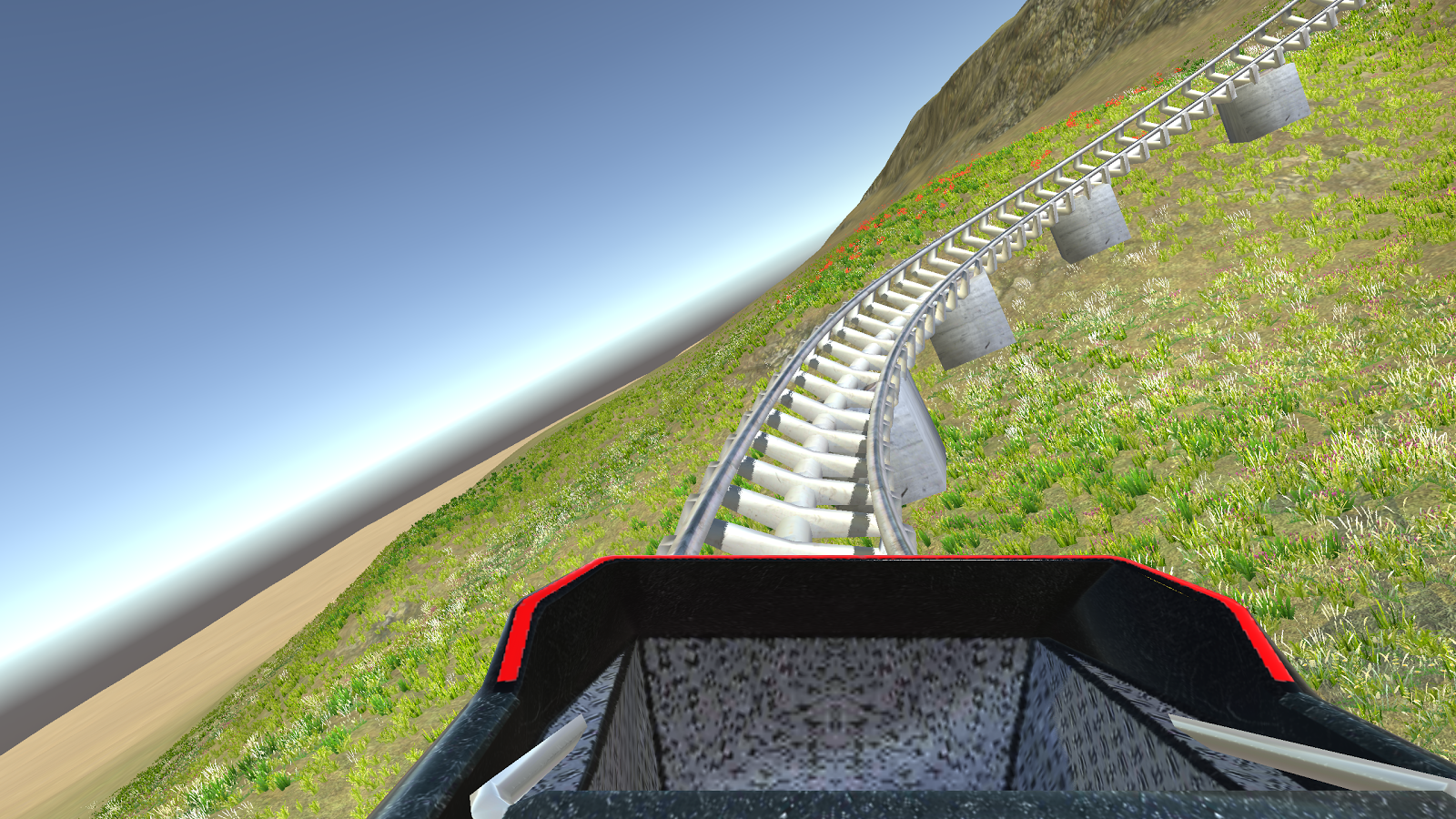 Cardboard VR 3D Roller Coaster Screenshot 7