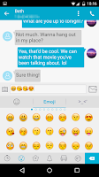 Screenshot of Handcent SMS
