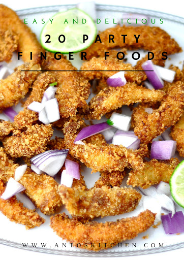 20 EASY AND DELICIOUS PARTY FINGER FOOD RECIPES