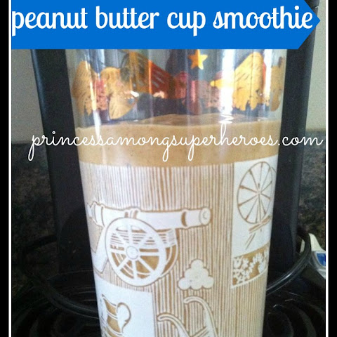 Peanut Butter Cup Breakfast Smoothie