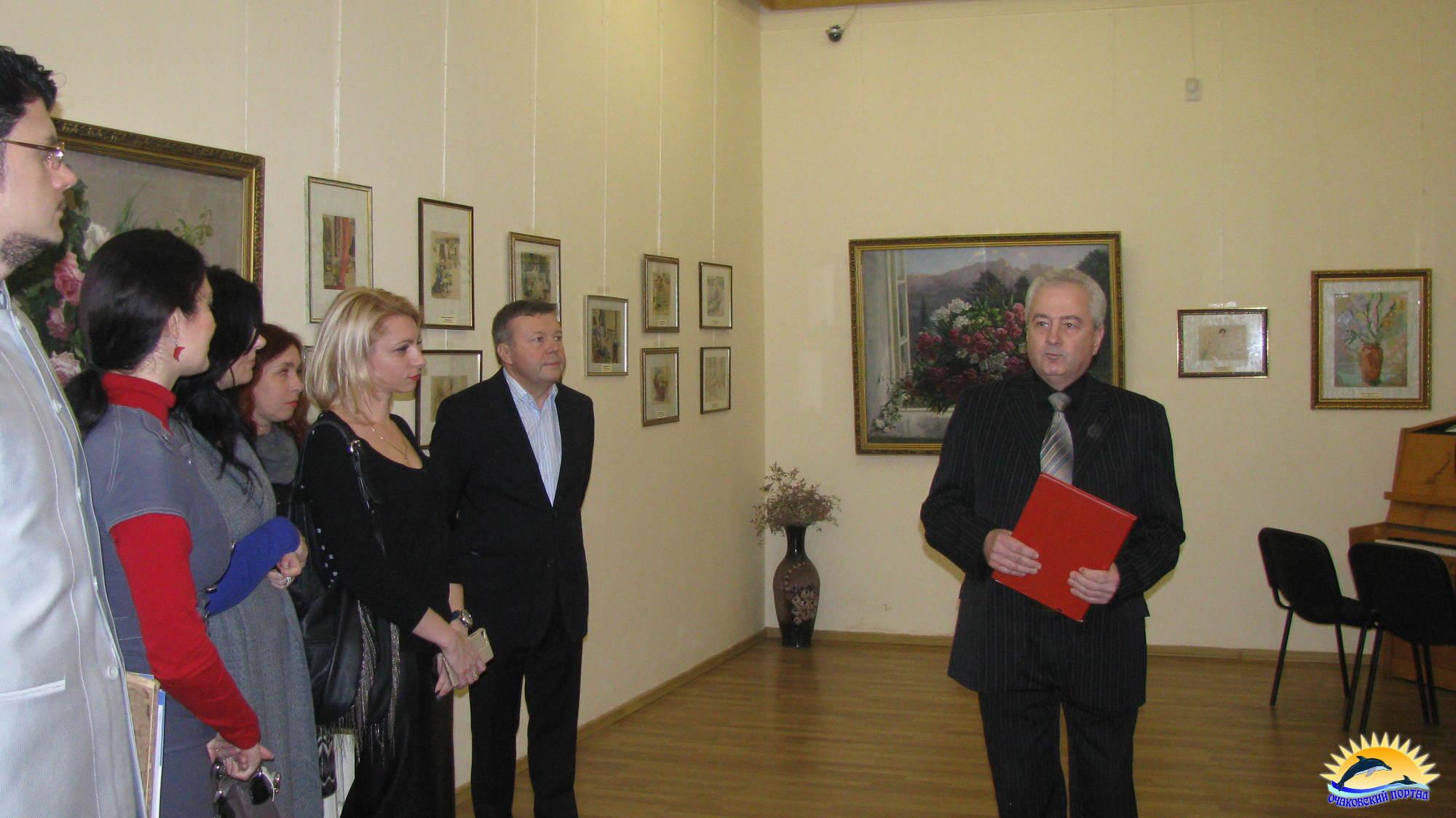 Открытие выставки в музее им. Р.Г.Судковского