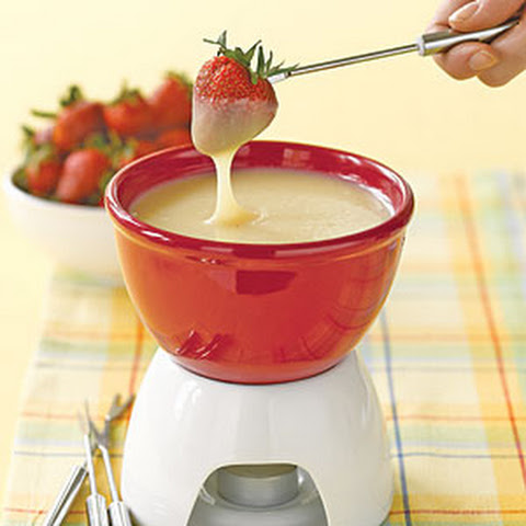 White Chocolate Fondue