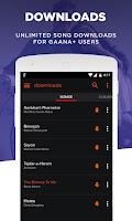 Screenshot of Gaana: Bollywood & Hindi Songs