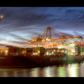by Alan Perusic - Transportation Boats ( urban, hdr, evergreen, ever, vancuver )