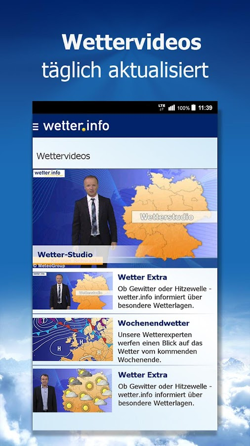 wetter.info Screenshot 3