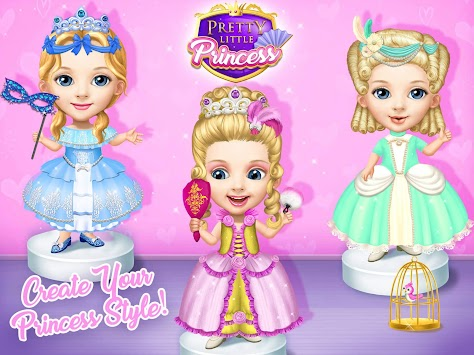Pretty Little Princess - Dress Up, Hair & Makeup APK screenshot thumbnail 19