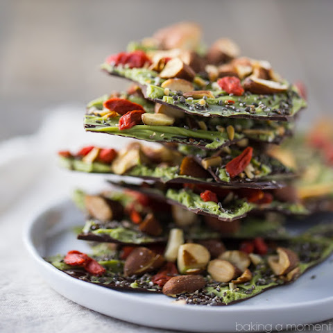 Dark Chocolate Almond Superfood Bark