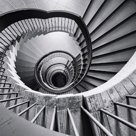 by Gordon Koh - Buildings & Architecture Other Interior ( structure, spiral stairs, asia, architecture, singapore )