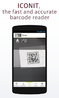 Screenshot of QRcode-BarcodeReader/ICONIT