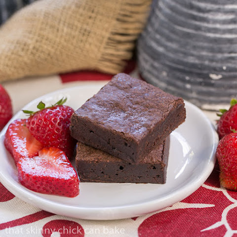 Cocoa Brownies with Browned Butter