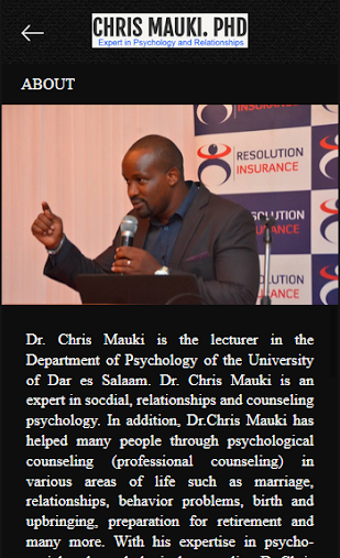 DR. CHRIS MAUKI APK