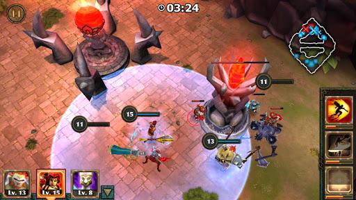 Legendary Heroes MOBA - screenshot