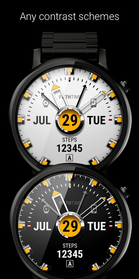 Watch Face PathTime Screenshot 2