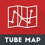 London Tube Map Offline 2018 Icon