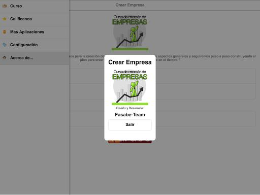 Curso de Creación de Empresas screenshot 24