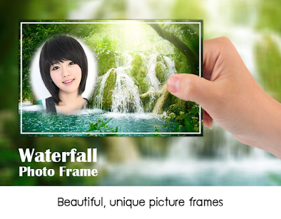 Waterfall Photo Frames - screenshot
