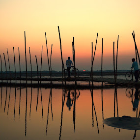 BACK HOME by Dipankar Singha - Landscapes Sunsets & Sunrises