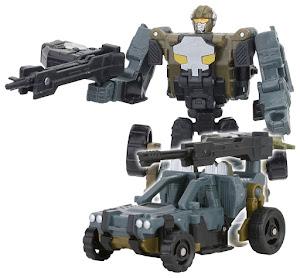 Робот-Трансформер Собирается в Багги с Пушкой M