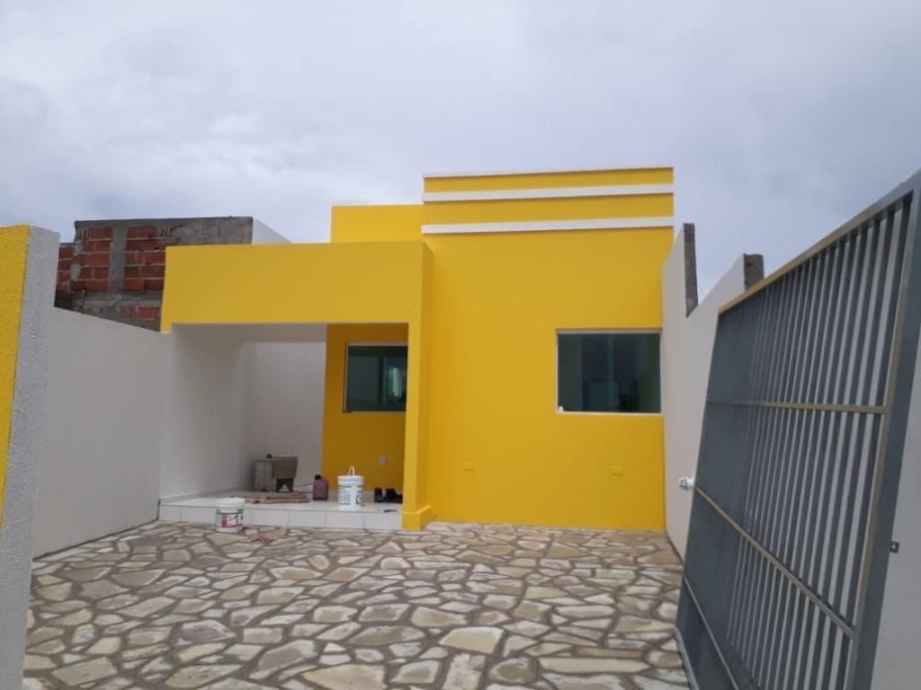 Oportunidade para não perder!!! Casa em Carapibus, vista para o mar ainda na planta em 72 meses.
