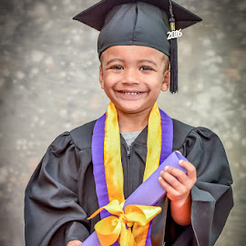 I've Graduated! by Peter Anslow - Babies & Children Child Portraits ( school, photograph, children, photography, graduation,  )