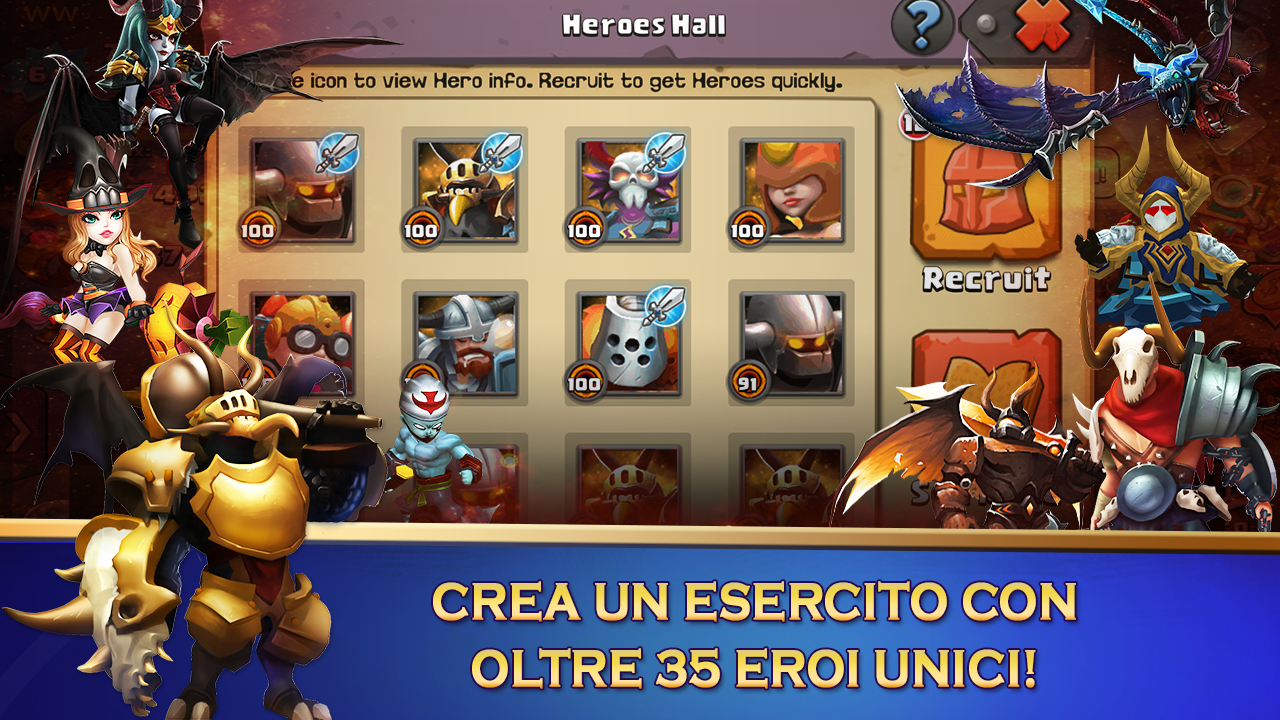 Clash of Lords 2: Italiano Screenshot 5