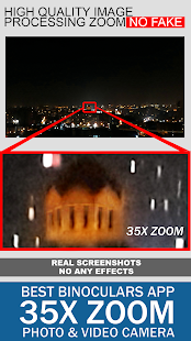 Binoculars 35x zoom Night Mode (Photo and Video) Screenshot
