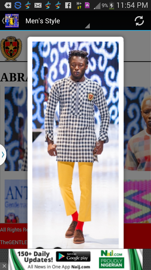 Latest African Fashion Styles Screenshot