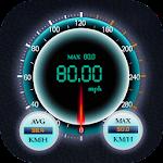 GPS Speedometer HUD Test - High Speed Meter Trip Icon