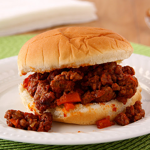 Homemade Sloppy Joe Sandwiches