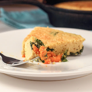 Vegan Kale and Sweet Potato Frittata